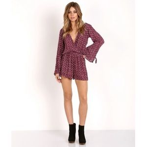 FAITHFULL THE BRAND SUBLIME PLAYSUIT ROMPER BESHKA